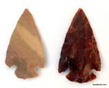 Obsidian Arrowheads Native American Artifacts