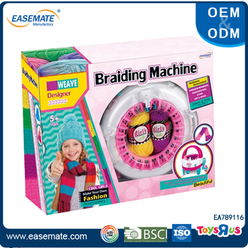 Kids DIY toys circular knitting machine toy for sale