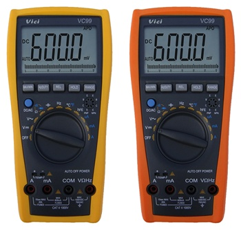 VC99 ac dc voltage tester digital multimeter/analog multimeter