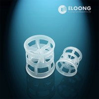 Plastic column packed ralu ring for tower internals