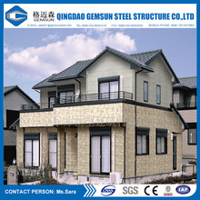 Steel Structure House, Luxury House, Luxury Villa and Modern Prefabricated Steel Structure House / Villa