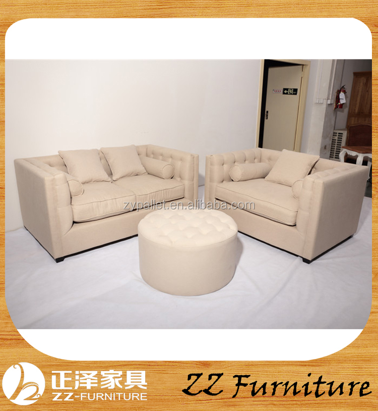 Reproduction factory direct vintage china sofa set for sale