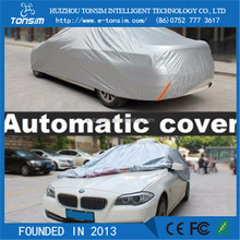 Full Set Plastic Car Cover Folding Car Body Cover 170T polyester car body cover