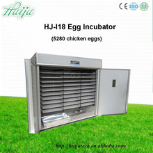 huiju large 5000 chicken egg incubator hatcher Full automatic solar & gas used for poultry cheap price HJ-I18
