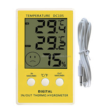 DC105 indoor/outdoor digial thermometer & hygrometer