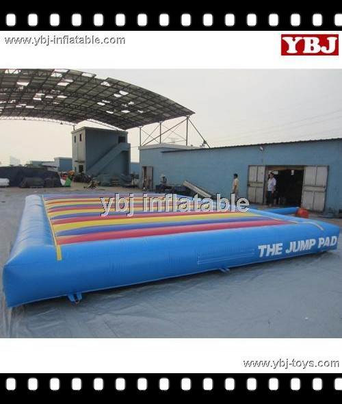 high quality large inflatable jumping pad
