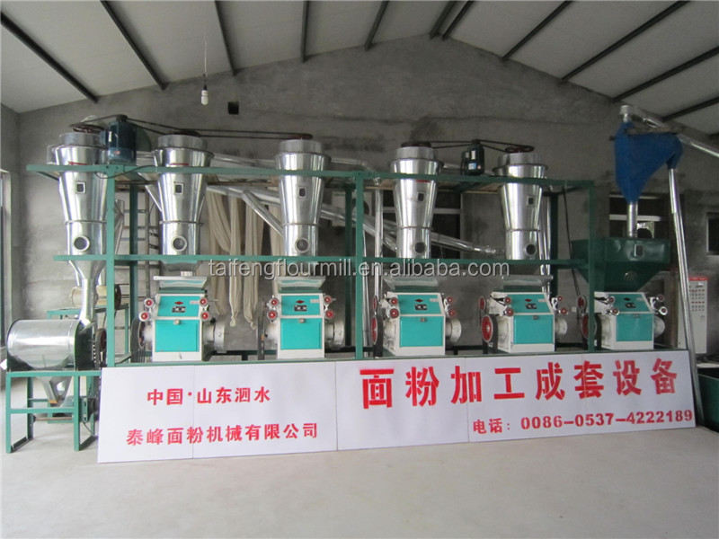 20TPD wheat grinding machine made by professional manufacturer