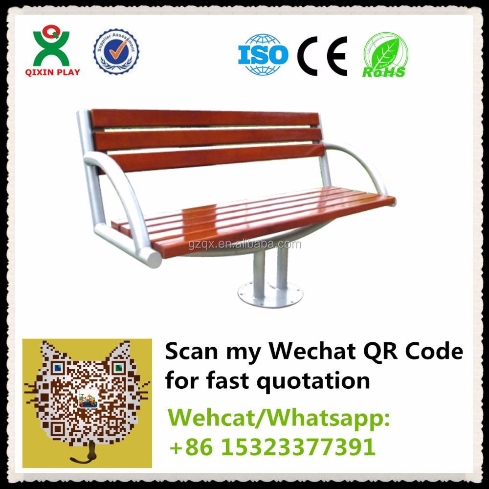 Guangzhou fabricante barato silla de jard n banco de for Bancos de madera para jardin baratos