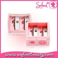 High quality macarons pink makeup pencil sharpener