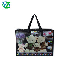 YZH4533-004 Wholesale factory price fashion recycled pp non woven shopping gift bag