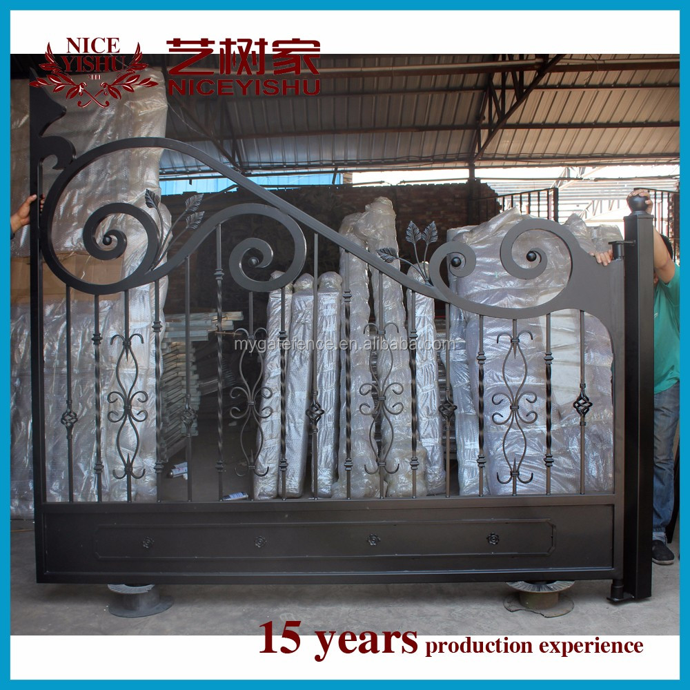 Gate Grill Iron Grill: Yishujia Factory Iron Pipe Gate Grill Designs,Main