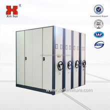 Easy Operate Metal Movable Mobile Shelving/Movable Shelves System/Compact Intelligent Steel Mobile Shelving