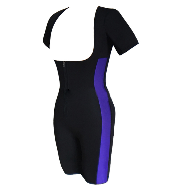 2018 Aofeite Women Neoprene Vest Sauna Sweat Shirt Body Shaper for Weight Loss Sport Corset