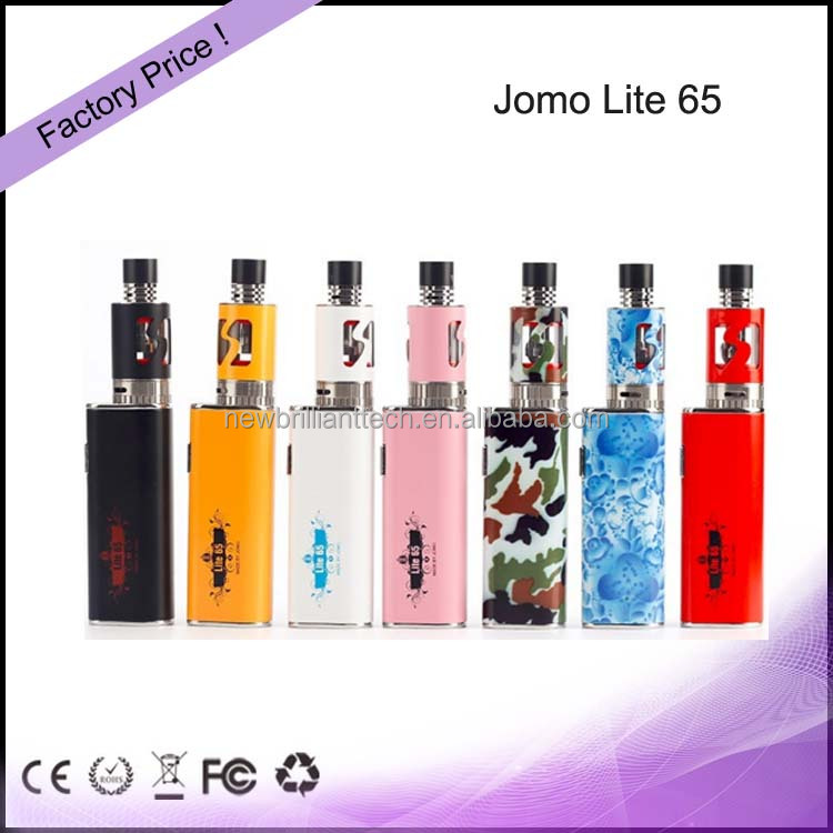 Wholesale Price E-cigarette Jomo 65W 3300mah Vapor Starter Kits Import Electronic Cigarette
