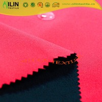 100 polyester sportswear fleece bonded fabric