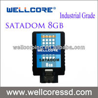 Wellcore industrial grade 8GB SATA DOM with high performance