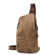 Men Military Messenger Bag Casual Outdoor Travel Rucksack Canvas Small Crossbody Shoulder Back Pack Hiking Sport Chest Bag