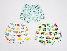 S32714W Children Girls Boys Hot Pants Casual Cute Summer Bloomers Bottoms