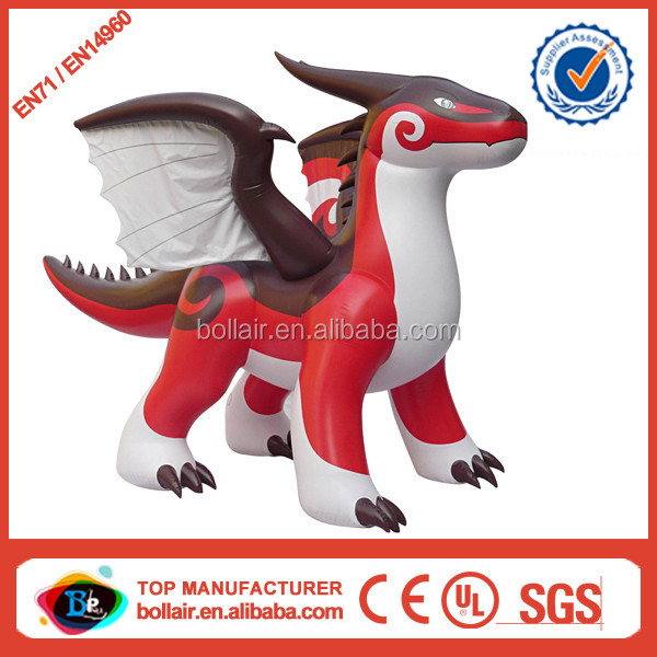 Promotion sale cheap giant inflatable zenith dragon