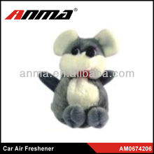 Gray color unique non toxic car air freshener hot sales in 2013 China
