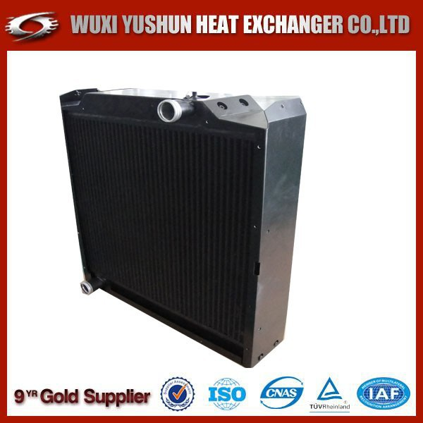 china supplier custom bar and plate all aluminum motorcycle radiator