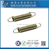Taiwan Stainless Steel Steel Copper Nickel-Plated OEM Extension Spring Heavy Duty Extension Springs Recliner Extension Spring
