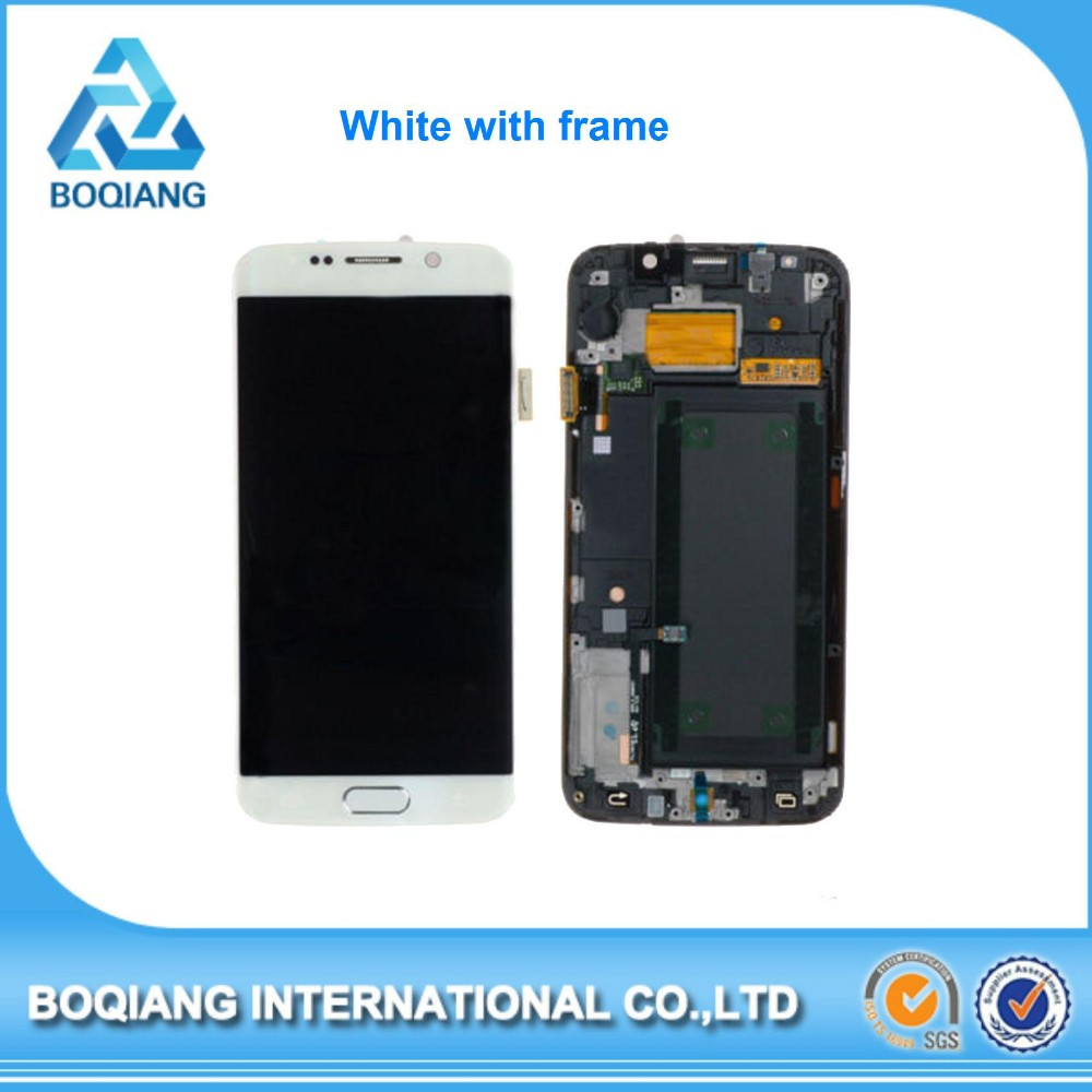 chinese phones spares for galaxy s6 screen, touch screen mobile phones display for s6