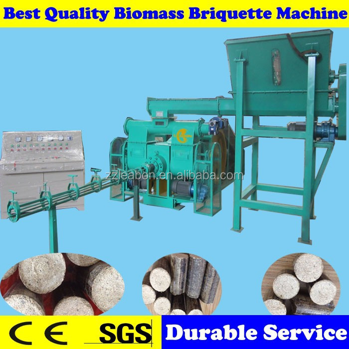 Fully Automatic Wood Solid Compress Fuel Briquette Production Line