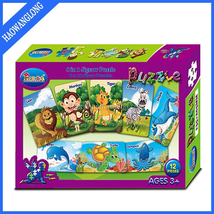 jigsaw puzzle cartoon characters toy
