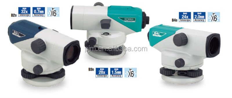Good feedback for construction sokkia auto level surveying instrument B20 B30 B40 high quality