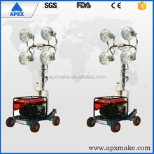Honda Gasoline Engine Generator Mobile Lighting Tower,Movable Tower Light