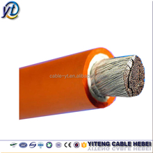 16mm 25mm 35mm 50mm 70mm 95mm2 CCA/Copper conductor PVC/Rubber/EPR/CPE/EPDM sheathed welding cable