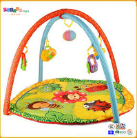 Custom baby play gym and play mat with educational toys ICTI audit factory