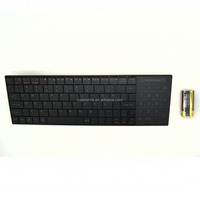 2.4GHz Mini Touchpad Wireless Keyboard For samsung tv PC/PAD/360XBox/PS3/Google Android TV Box/HTPC/IPTV