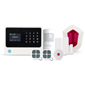 Professional security Alarm System support IP camera/home automation & GSM WiFi GPRS home security system