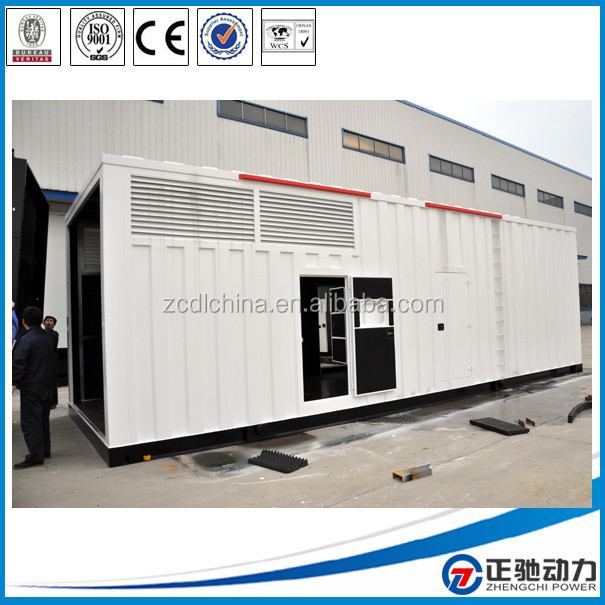 China diesel generator set with engine spare parts