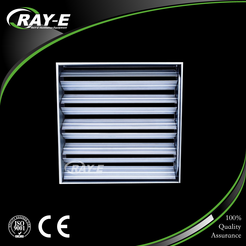 supply exhaust air conditioning systems air volume control opposite blade air damper