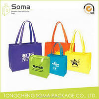 Ample supply and prompt delivery hot selling attractive boutique non woven bags