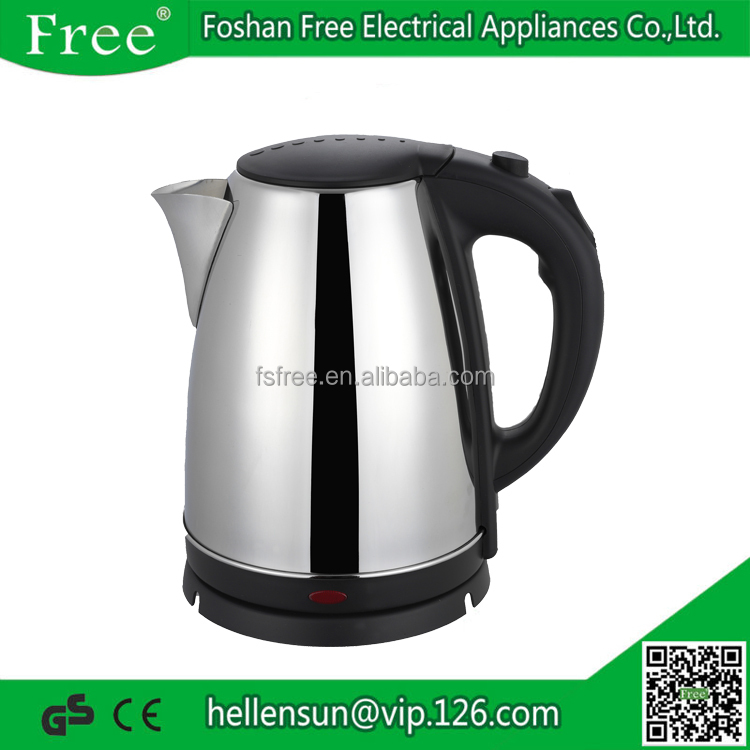 Chinese Kitchen Appliances Manufacture Stainless Steel Electrical Tea Pot for Dubai