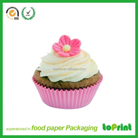 Custom paper cake tray recycled paper food tray