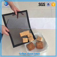 replacing parchment paper disposable factory teflon coated electric baking oven liner tray