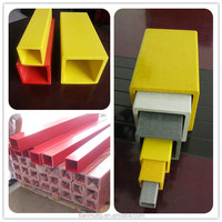Pultruded fiberglass square tube and Grp profile products