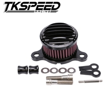 RACING CNC black motorcycle air filter For Harley sportster XL883/1200 04'-UP