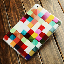 "8""color print universal silicon rubber tablet case For ipad mini 123"