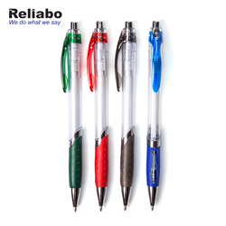 Reliabo Stationery Manufactures Writing Instrument Promotional Multi-Color Plastic Ball Pens