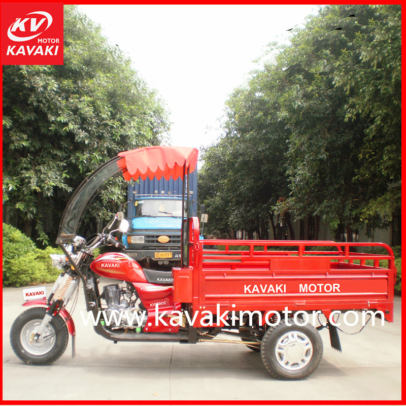 Multipurpose cargo rickshaw motor adult motor trike 3 wheel auto strong rear axle automobile