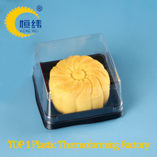 Moon cake and macarons blister packaging by thermoforming machine from shanghai yiyou