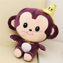 Hot sale 2016 stuffed plush monkey soft toy