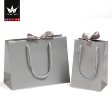 High-end Custom Brand Travel Jewelry Paper Packaging Bag With Logo