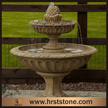 Good price garden stone water fountain factory sale